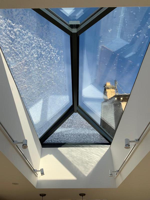 Image 8 - roof top lantern in Kitchen diner extension