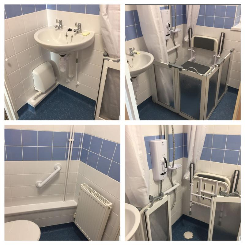 Image 17 - Disabled bathroom installation