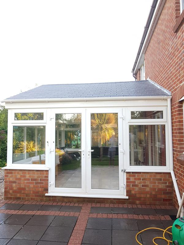 Image 5 - Full gable Warmroof upgrade. TAPCO lightweight and gorgeous.www.conservatorymakeovers.com