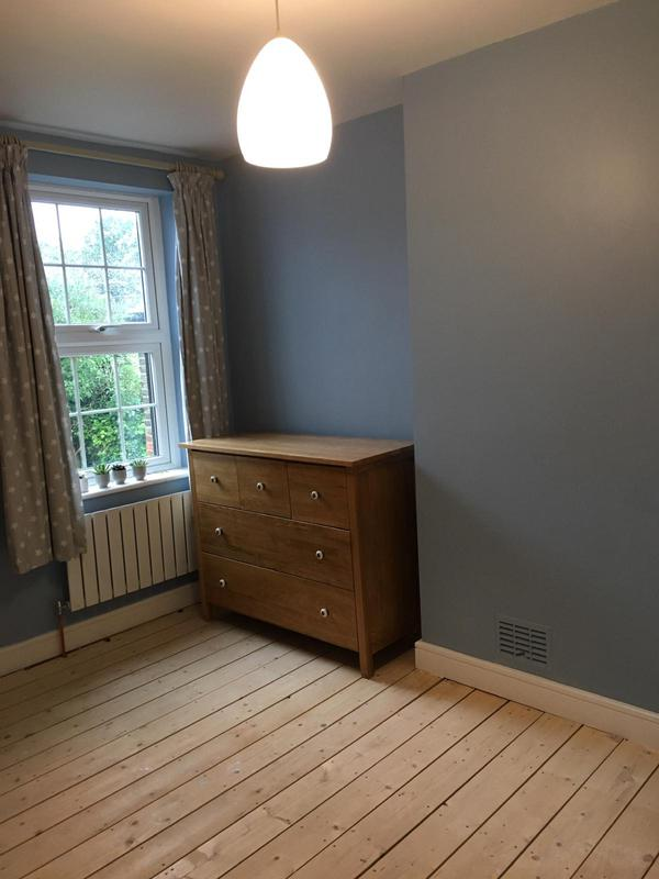 Image 15 - farrow and ball blue bedroom