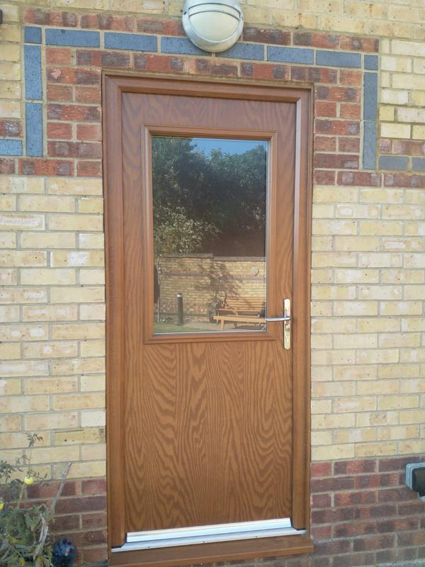Image 59 - Lovely New back Door