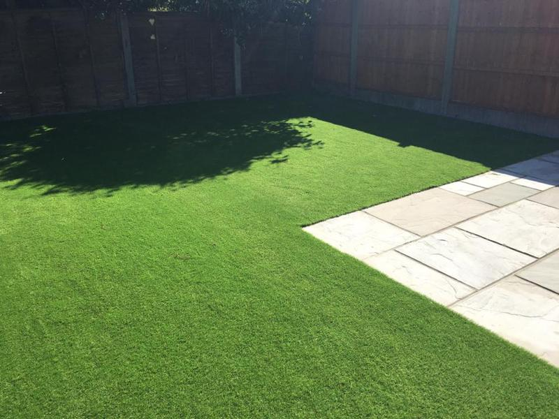 Image 24 - Artificial grass , , come in different shades and sizes.