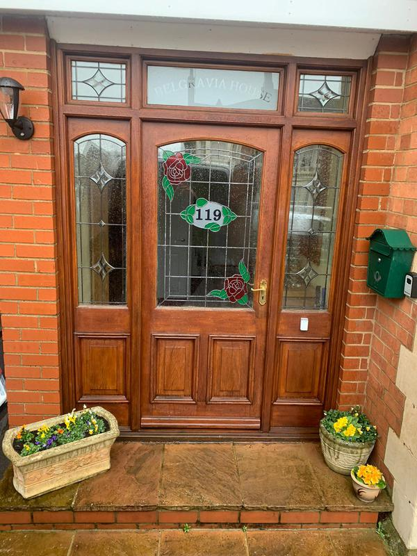 Image 35 - Before - Old Front Door