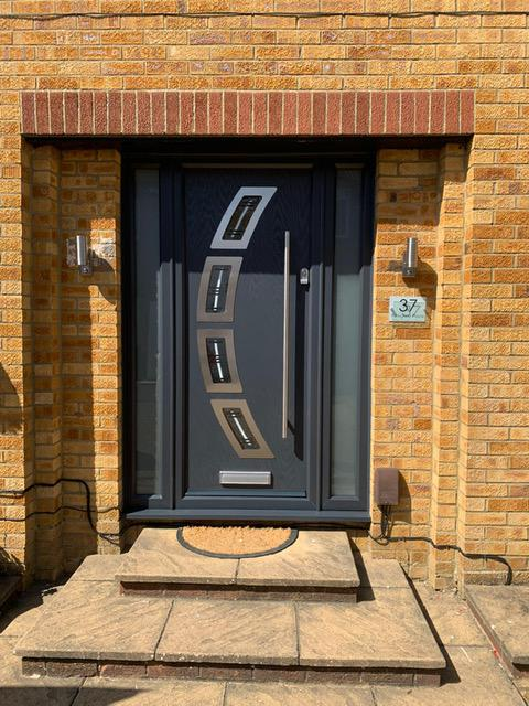 Image 72 - After - New front door