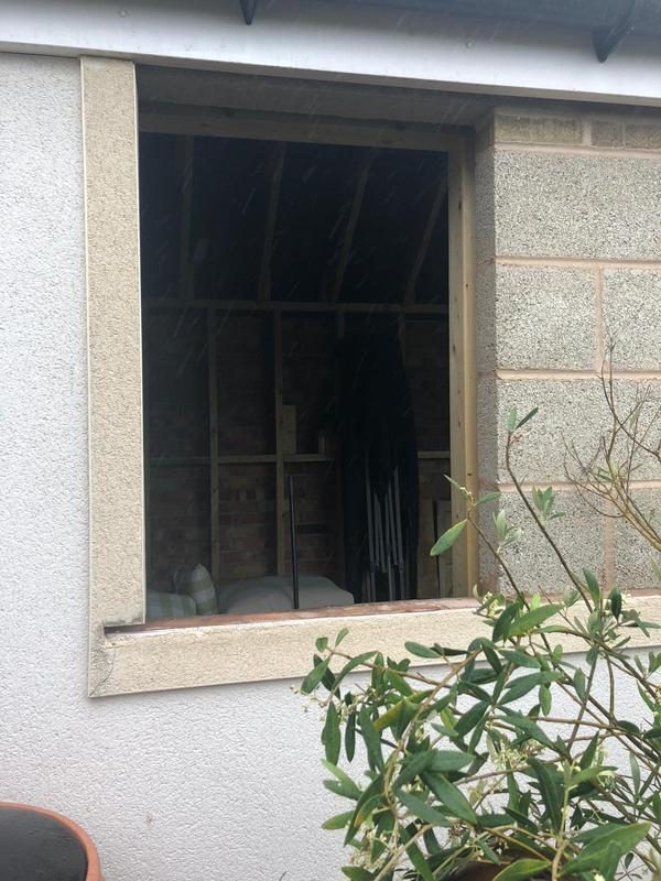 Image 21 - Before - Prepared window opening