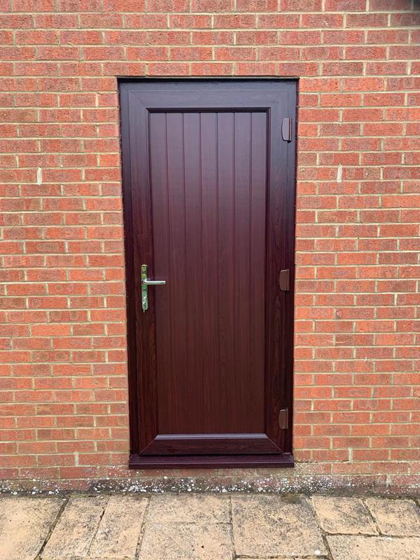Image 18 - New Door into Garage