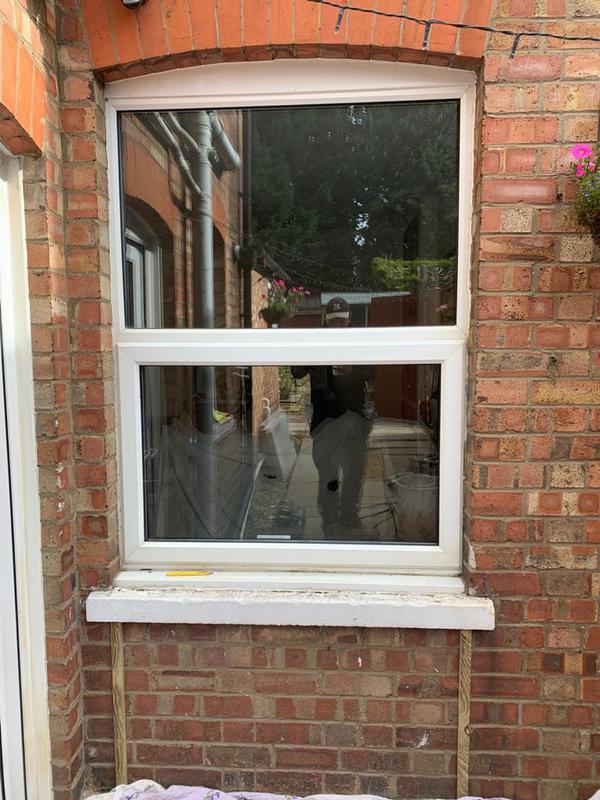 Image 17 - Before - Window to convert into patio doors