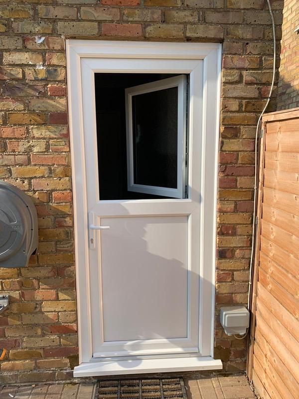 Image 22 - After - New Stable Door style Upvc back door.