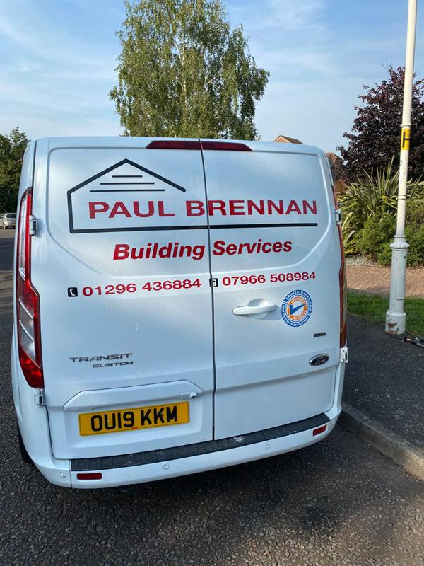 Paul Brennan Building Services logo