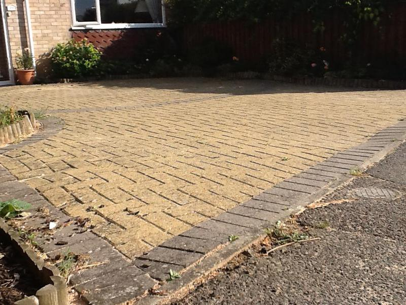 Image 16 - This was a prime example of a driveway laid on a inadequate sub-base
