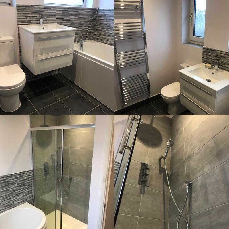 Image 2 - Bathroom Installed in Orpington. January 2020, before after photos.