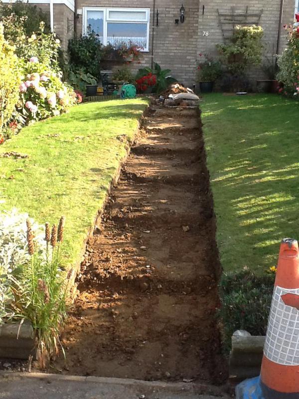 Image 21 - We have chiseled a set of steps into the landscape