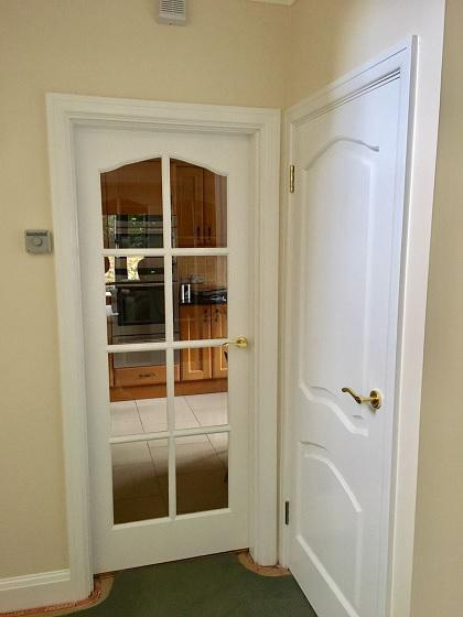 Image 6 - 8 panneled doors and solid wood panneled doors in satin finish