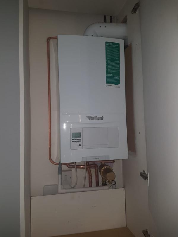 Image 11 - New boiler installation
