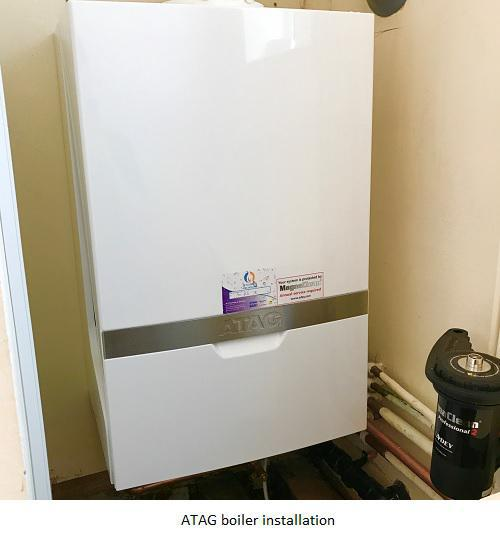 Image 13 - AFTER - Newly installed ATAG iC 28kw boiler with central heating filter and nest