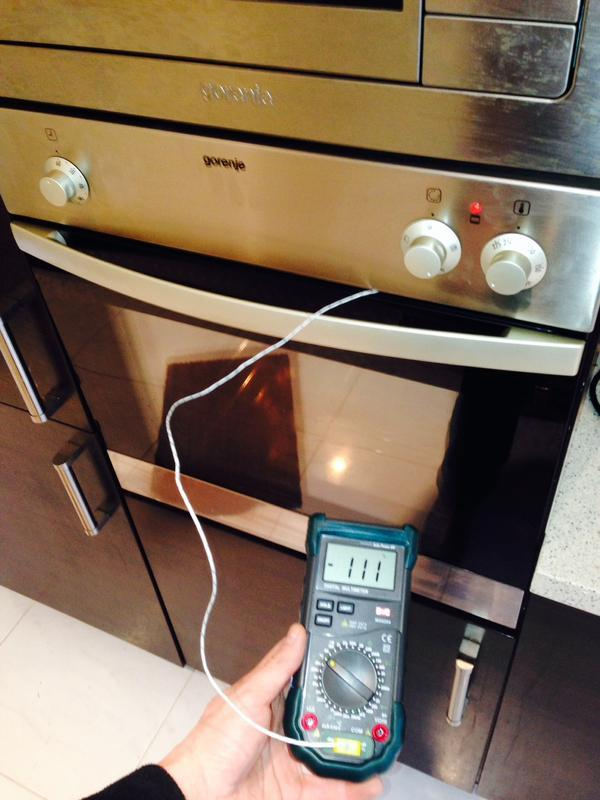 Image 2 - Tested appliance to make sure it was regulating at the right temperature