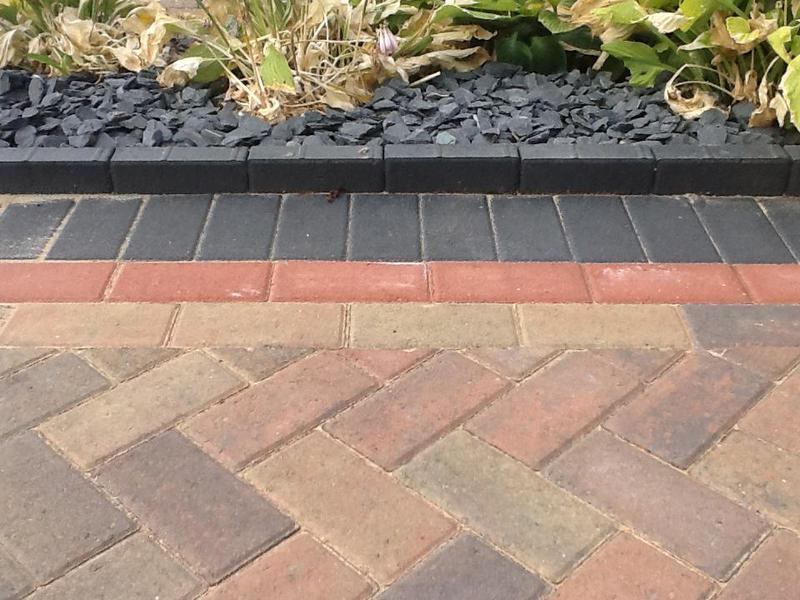 Image 39 - Another pattern and edging type standing bricks create a great boarder