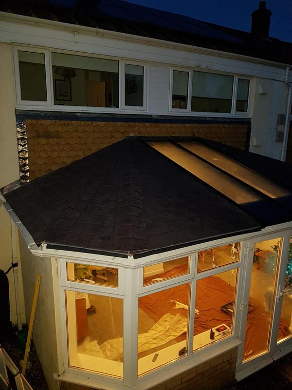 Image 25 - Warm at night and gorgeous looking Prefix Warmroof. Ending all of the cold and miserable issues with regard to old cold conservatories.www.conservatorymakeovers.com