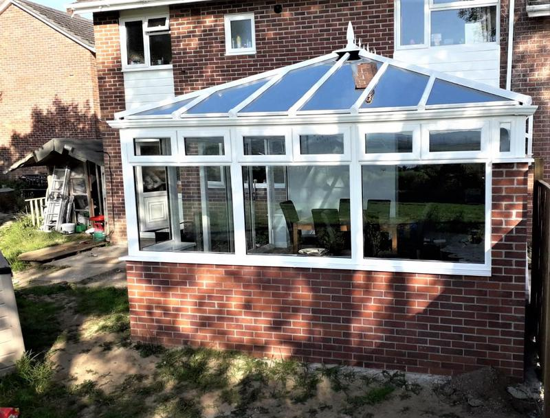 Image 24 - New build classic Ultraframe roof and veka frames, blending the best of the best in home improvement products. 10 year insurance backed guarantee on the construction, frames and roof.