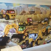 Image 46 - YOUNG LADS BEDROOM FEATURE MURAL IN TIPTREE,ESSEX