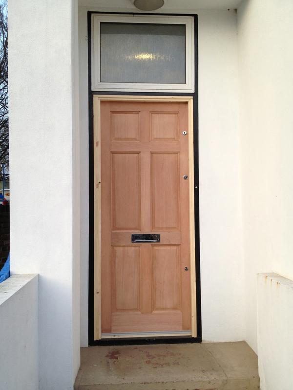 Image 46 - Hardwood External Door