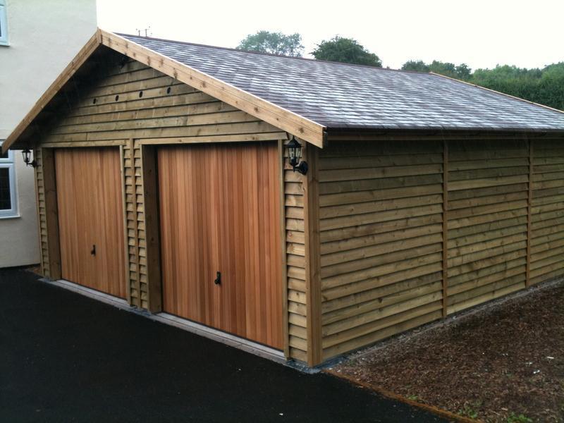 Image 35 - Timber Framed Garage