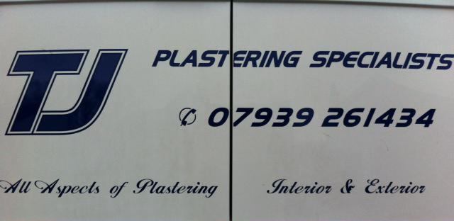 TJ Plastering Specialists logo