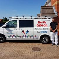 Keith Gibson Painting & Decorating logo