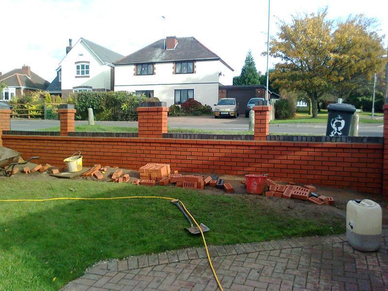 Image 4 - front garden walls for julie& jeff coyser nieghbours
