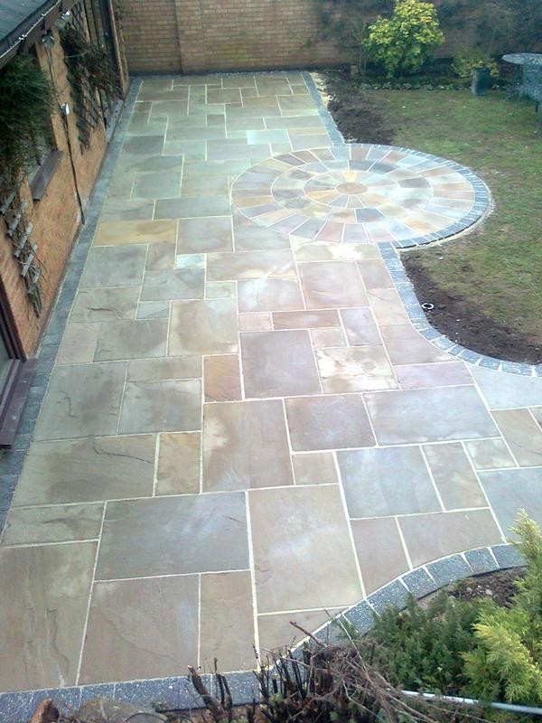 Image 6 - indian stone patio for mr&mrs poulton