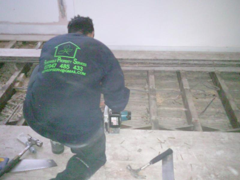 Image 27 - Replacing floor joists after water damage