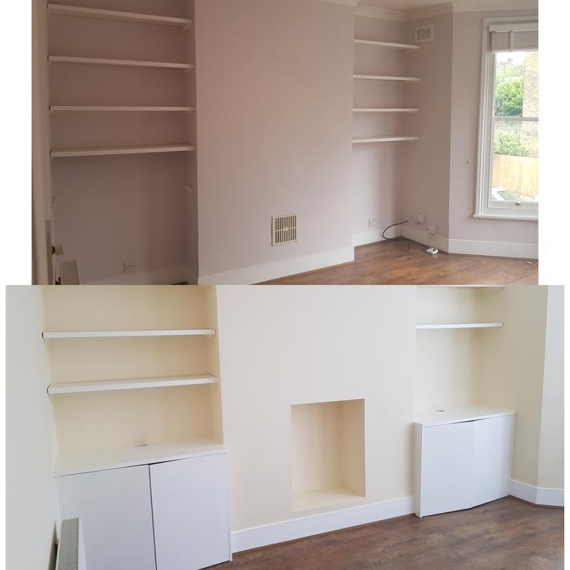 Image 100 - Bespoke carpentry and decorating.