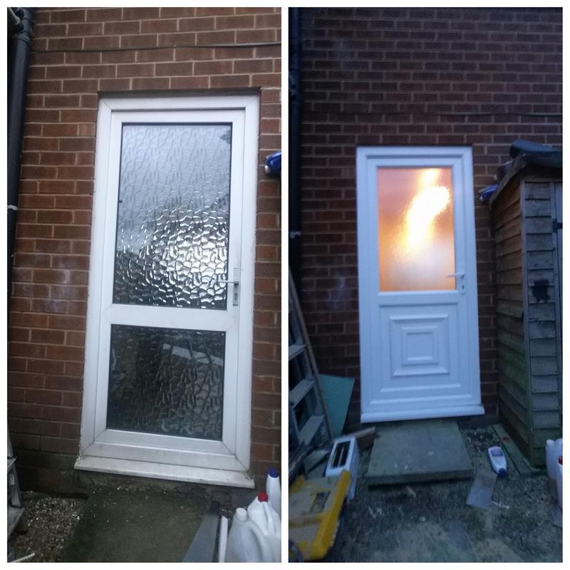 Image 70 - upvc back door replaced