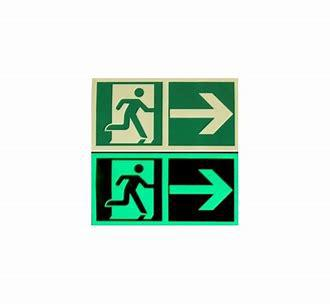 Image 14 - we supply and install photo luminescent safety signs
