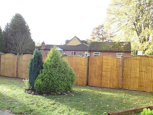 Image 9 - Garden fence