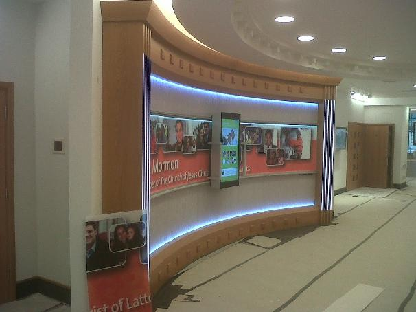 Image 11 - Completed Audio Visual Wall