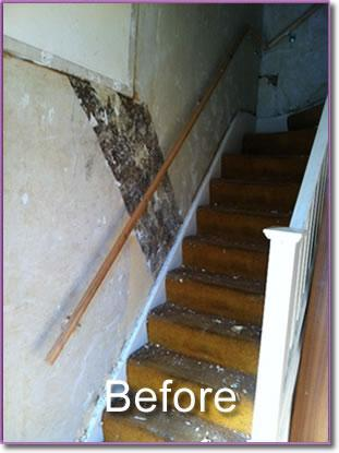 Image 14 - staircase before