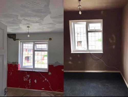 Image 8 - Before and after bedroom in Basildon
