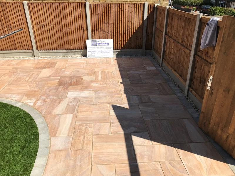 Image 12 - Full garden re-design, including patio, artificial grass and also a new 6ft fence, complete with gate, erected