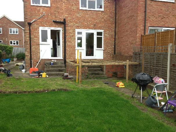 Image 6 - Decking before