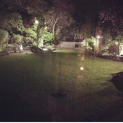 Image 7 - garden lighting install