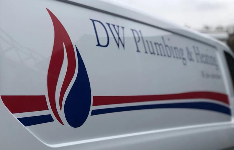 DW Plumbing & Heating logo