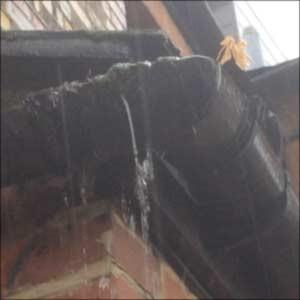Image 13 - Gutters are the single greatest cause of dampness in the home, how often do you go out and inspect your gutters when it rains?