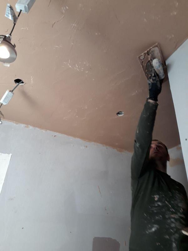 Image 13 - Plastering and spotlights install