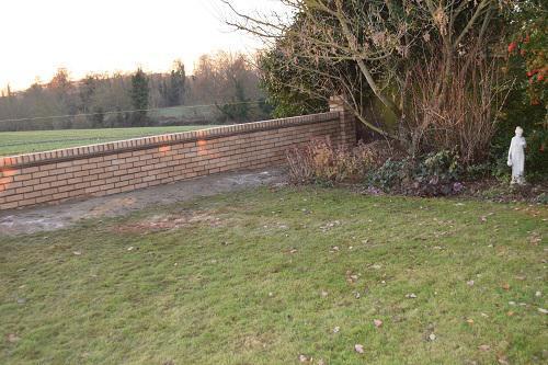 Image 17 - Garden wall built for a customer