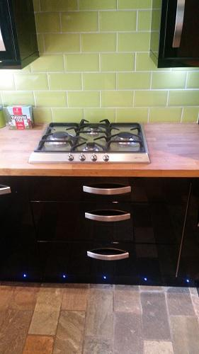Image 17 - New gas hob installation - many evenings filled with good food to come!