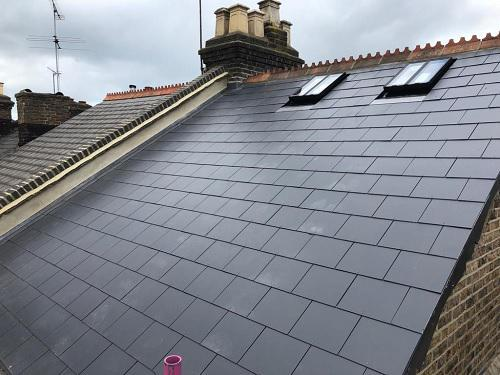Image 21 - New Eternit slate roof