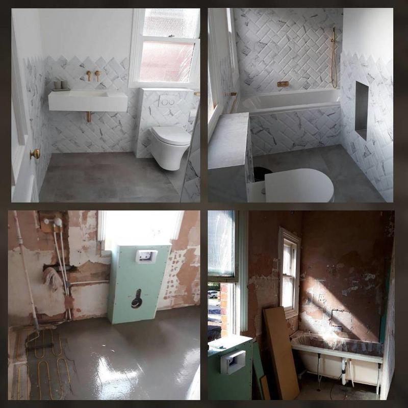 Image 6 - Bathroom refurbishment process and finish