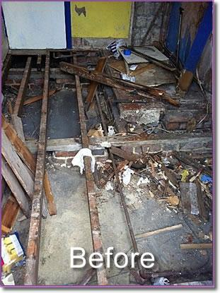 Image 7 - rotten kitchen floor