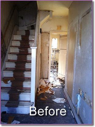 Image 15 - staircase before